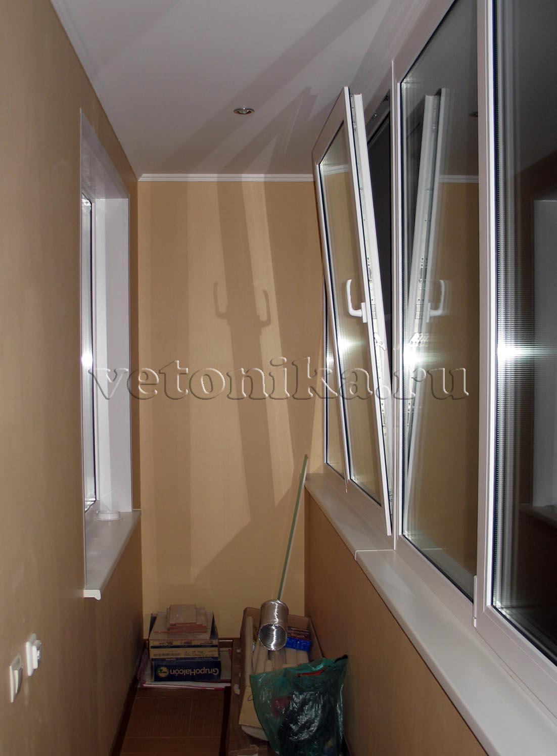 Стоимость отделки лоджии в башне вулыха. - ставим окна сами .