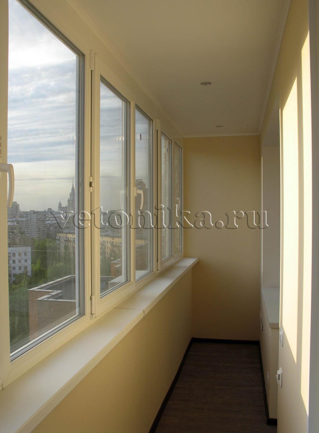 Присоединение балкона в башне вулыха..
